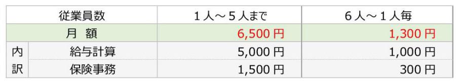 修正 給与・賞与+保険事務